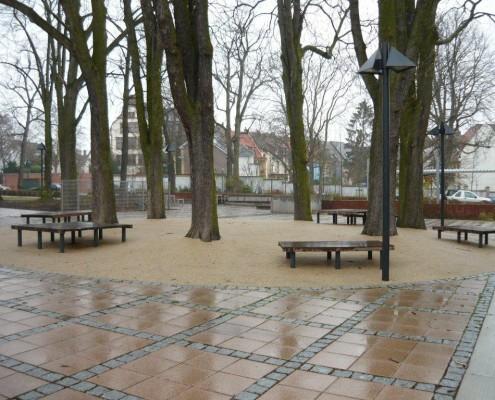 Surestone permeable belægning i parkanlæg